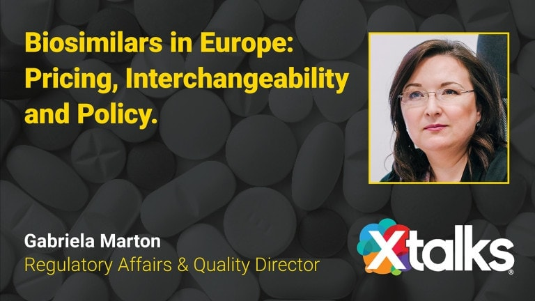 Webinar: Biosimilars in Europe – Pricing, Interchangeability and Policy.